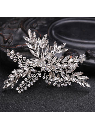 Ladies Beautiful Rhinestone/Alloy Hairpins With Rhinestone