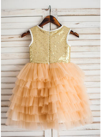 purple and yellow flower girl dresses