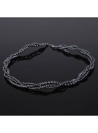 Halsketten Faux-Perlen Faux-Perlen Karabiner Damen Hochzeits- & Partyschmuck