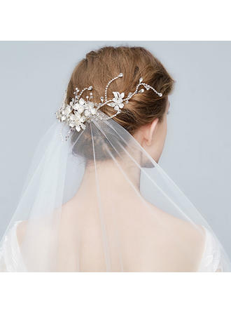 Elegant Alloy Hairpins With Rhinestone/Crystal (Sold in single piece)
