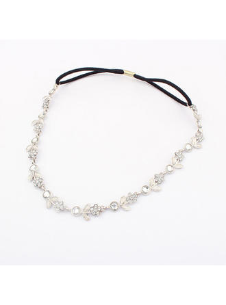 "Headbands Special Occasion/Casual/Outdoor/Party Rhinestone/Alloy 19.29""(Approx.49cm) 0.39""(Approx.1cm) Headpieces"