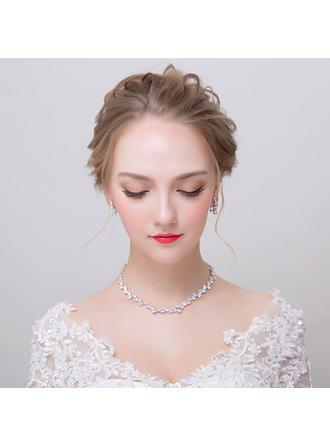 Jewelry Sets Zircon Earclip Ladies' Chic Wedding & Party Jewelry