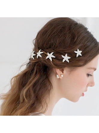"Hairpins Wedding/Special Occasion/Casual/Outdoor/Party Rhinestone/Alloy 3.15""(Approx.8cm) 1.18""(Approx.3cm) Headpieces"