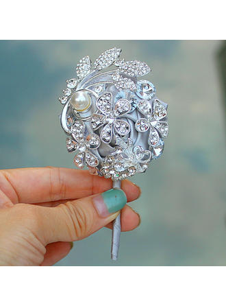 "Boutonniere Free-Form Wedding/Party Satin B:2.36"" (Approx.6cm) Wedding Flowers"