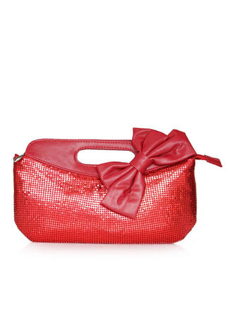 Clutches Wedding/Ceremony & Party Patent Leather Zipper Closure Elegant Clutches & Evening Bags