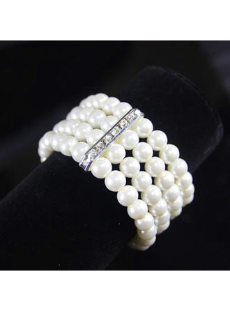 Bracelets Imitation Pearls Ladies' Exquisite Chain & Link Bracelets Wedding & Party Jewelry