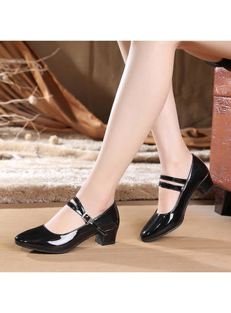 Women's Ballroom Character Shoes Heels Leatherette Dance Shoes