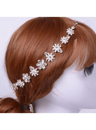 "Headbands Wedding/Special Occasion/Casual Alloy 10.63""(Approx.27cm) 0.98""(Approx.2.5cm) Headpieces"
