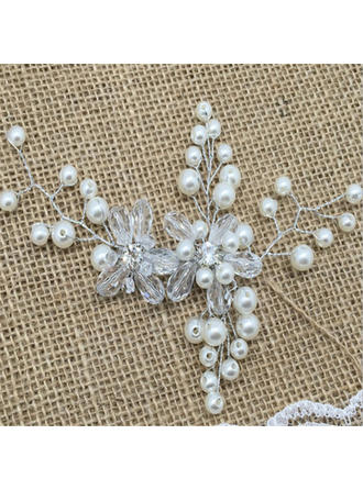 Beautiful Crystal/Rhinestone/Imitation Pearls Hairpins (Sold in single piece)