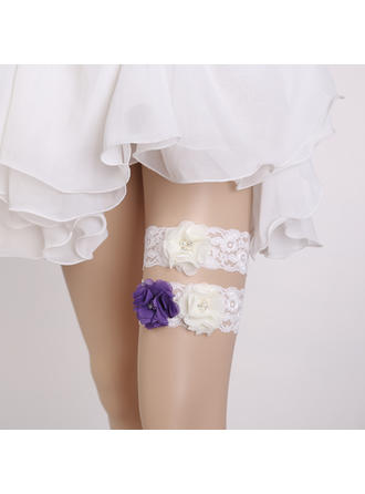 Garters Women/Bridal Wedding/Special Occasion Lace With Flower Garter