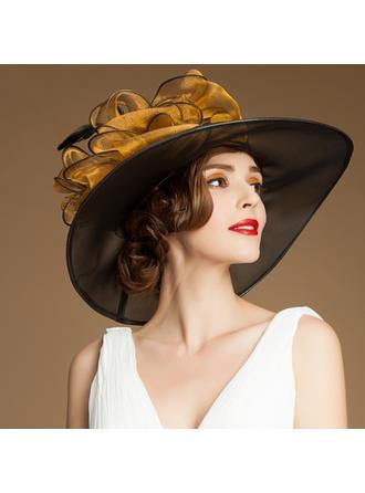 Organza Bowler/Cloche Hat Elegant Ladies' Hats