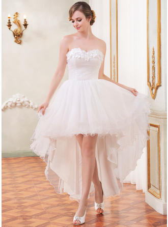 Sleeveless General Plus Sweetheart With Tulle Wedding Dresses