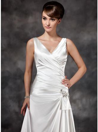 cheap ivory lace wedding dresses