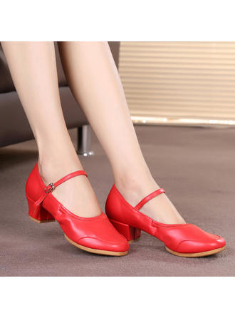 Women's Character Shoes Sneakers Leatherette Dance Shoes