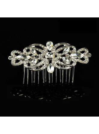 "Combs & Barrettes Wedding/Special Occasion Alloy 3.54""(Approx.9cm) 1.97""(Approx.5cm) Headpieces"