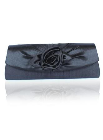 Clutches Wedding/Ceremony & Party Satin Magnetic Closure Gorgeous Clutches & Evening Bags