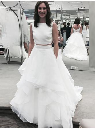 Modern A-Line/Princess With Organza Wedding Dresses