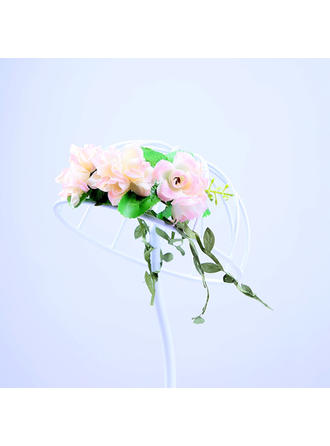 "Headbands Wedding/Special Occasion/Party Artificial Silk 7.09""(Approx.18cm) 2.36""(Approx.6cm) Headpieces"
