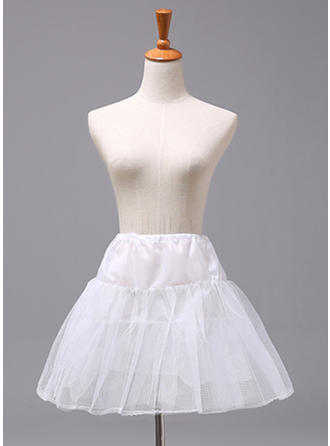 Petticoats Polyester Flower Girl Slip 2 Tiers Wedding Petticoats (037190890)