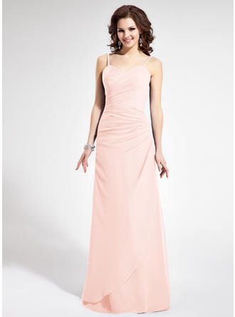 Sweetheart Floor-Length Chiffon Chic Bridesmaid Dresses