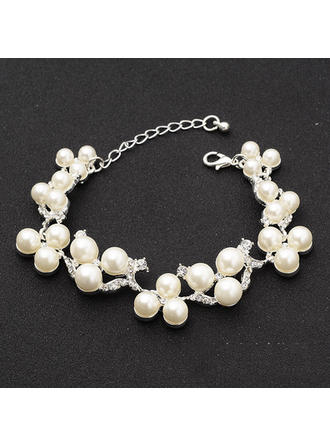"Bracelets Alloy/Rhinestones Ladies' Fashional 0.71""(Approx.1.8cm) Wedding & Party Jewelry"