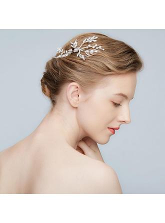 Prächtig Legierung Kämme und Haarspangen mit Strass/Kristall (In Einem Stück Verkauft)