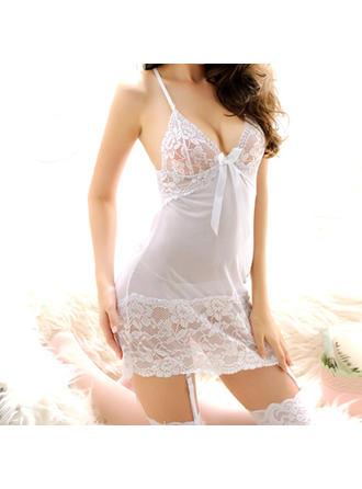 Lingerie Set Casual Bridal/Feminine/Fashion Chinlon Attractive Lingerie