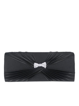 Clutches Wedding/Ceremony & Party Satin Magnetic Closure Fashional Clutches & Evening Bags