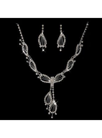 "Jewelry Sets Alloy/Rhinestones Pierced Lovely 13.8""-17.7""(Approx.35cm-45cm) Wedding & Party Jewelry"