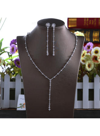 "Jewelry Sets Alloy/Rhinestones Ladies' Hottest 17.72""(Approx.45cm) Wedding & Party Jewelry"