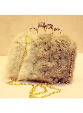 Elegant Fur Clutches