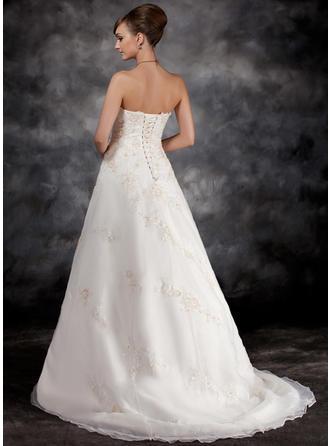cheap long white wedding dresses