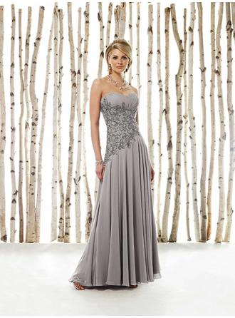 Floor-Length Mother of the Bride Dresses