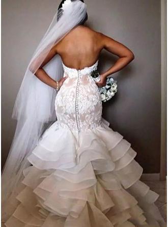 fluidos vestidos de novia de otoño blanco