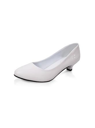 Femmes Escarpins Talon bas Similicuir Non Chaussures de mariage