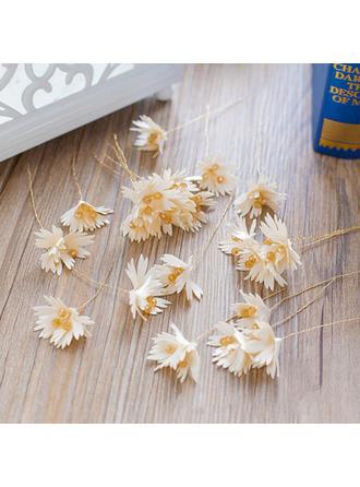 Hairpins Wedding/Party Silk Flower Exquisite Ladies Headpieces