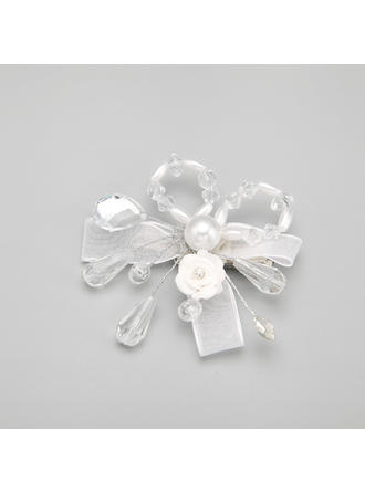 "Combs & Barrettes Wedding/Special Occasion Alloy/Imitation Pearls/Ceramic 2.76""(Approx.7cm) 2.76""(Approx.7cm) Headpieces"