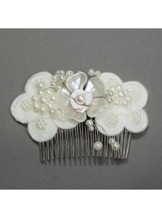 "Combs & Barrettes Wedding/Special Occasion/Party 2.36""(Approx.6cm) 1.97""(Approx.5cm) Gorgeous Headpieces"