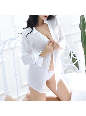 Coat Casual/Special Occasion Feminine Chiffon Sexy Lingerie