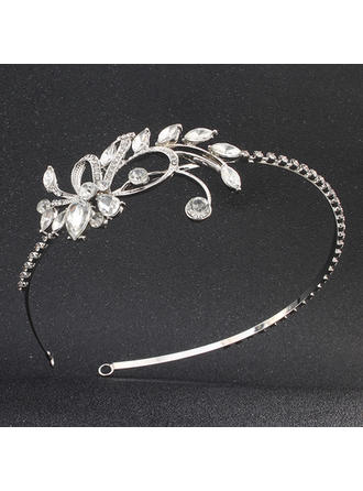 Tiaras Wedding/Special Occasion/Party Alloy Elegant The color of embellishments are shown as picture/Color & Style representation may vary by monitor Headpieces