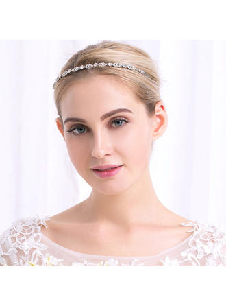 """Tiaras Wedding Rhinestone/Alloy 5.12""""(Approx.13cm) 0.24""""(Approx.0.6cm) Headpieces"""