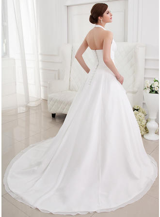 babydoll plus size wedding dresses