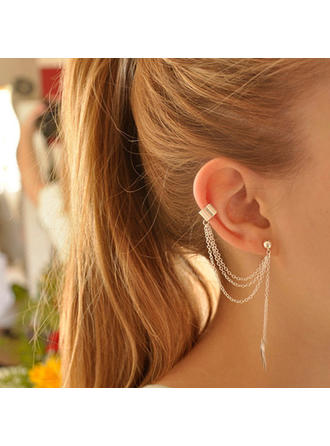 Earrings Alloy Pierced Ladies' Fashional Wedding & Party Jewelry