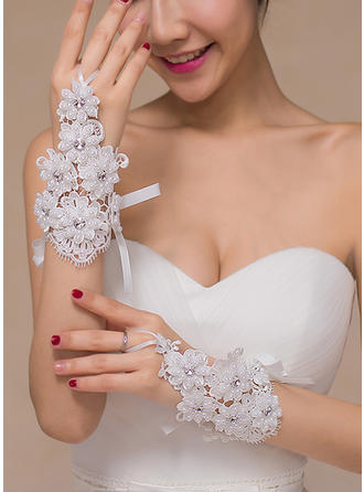 Lace Ladies' Gloves Bridal Gloves Fingerless 16cm(Approx.6.30inch) Gloves (014192113)