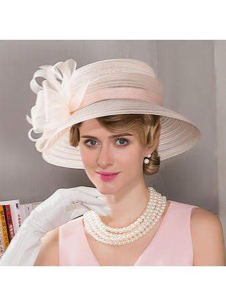 Cambric Bowler/Cloche Hat Beautiful Ladies' Hats