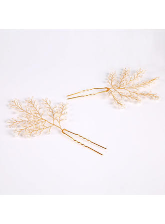 Glamourous Crystal/Alloy Hairpins (Sold in single piece) (042130017)
