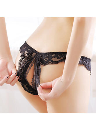 Panties Casual/Wedding/Special Occasion Feminine Lace/Chinlon Sexy Lingerie
