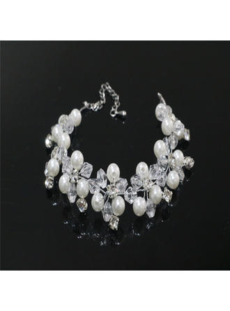 Bracelets Rhinestones/Imitation Pearls Rhinestone/Imitation Pearls Lobster Clasp Ladies' Wedding & Party Jewelry