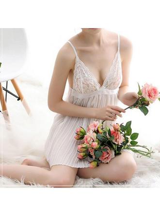 Conjunto lencería Hochzeit/besondere Anlässe Brautmoden/Weiblich Lace/Chinlon Klassische Art Lingerie