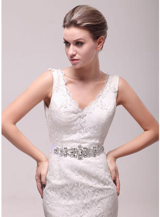 Women Mercerizing With Rhinestones Sash Beautiful Sashes & Belts (015191278)